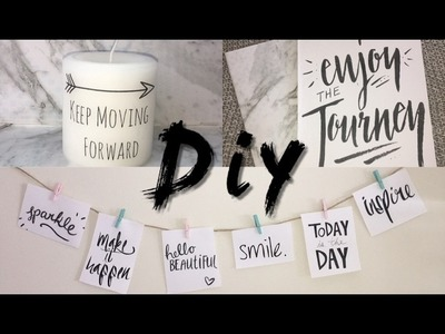 Diy Projects with quotes   Quote Room Decor and Quote Notebooks Inspirational Quotes Tumblr inspired
