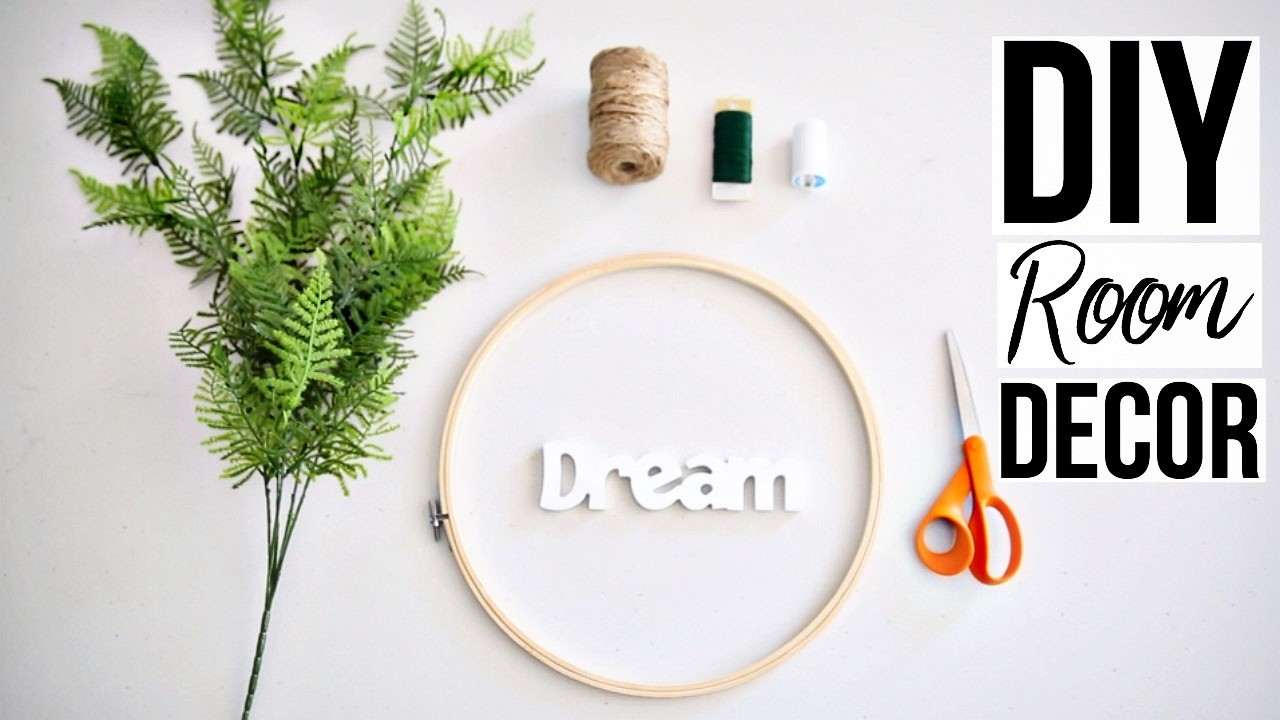 DIY Room Decor | Hanging Wall Decor