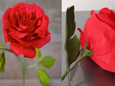 DIY School Supplies & Room Organization   Valentines Gift Idea   How to make realistic paper roses !