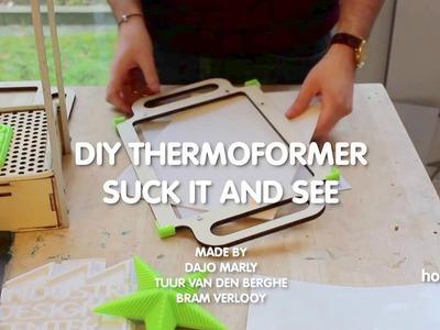 DIY THERMOFORMER.VACUUMFORMER TABLE MODEL . PATTERNMAKER