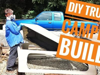 DIY Truck Camper Build Pt.1 (Travel Vlog) Ep.4
