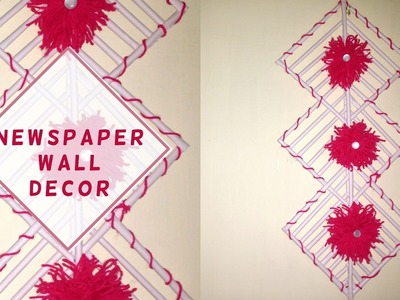 DIY Wall Decor from papers || Home-made