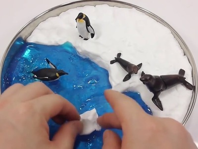[Do It Yourself] Learn Color - DIY 1000 Degree Knife VS Icecream Milk Balls DIY Learn Colors