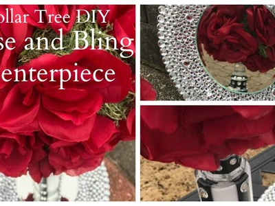 Dollar Tree DIY Wedding.Valentines Centerpiece Idea