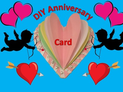 Easy DIY Hand Made Anniversary and Birthday Greeting Card | 2017 NEW Quick Fast
