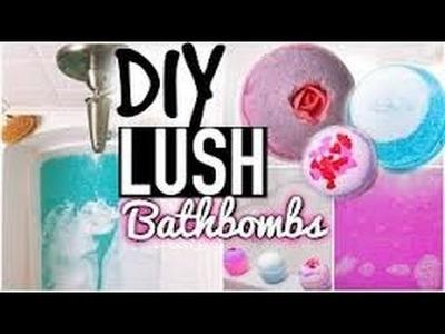 Easy DIY - LUSH BATHBOMB - NO citrid adcid NEEDED
