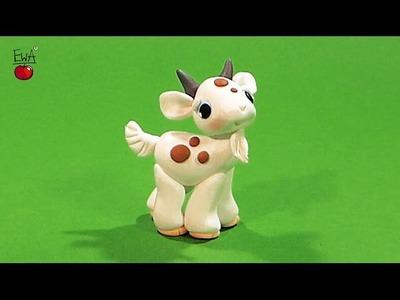 Goat - Koziolek - tutorial by Let's clay with Ewa