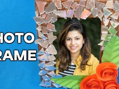 How To Make a Cardboard Photo Frame - Home DIY