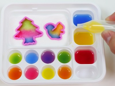 LEARN COLORS Kracie Gummy Land DIY Japanese Candy Making Kit!