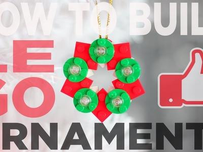 LEGO ORNAMENT IDEAS. HOW-TO-BUILD. LEGO CHRISTMAS DECOR
