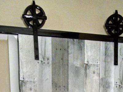 'On The Fly. DIY' Sliding Barn Door