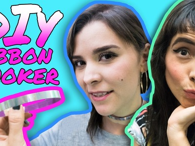 Ribbon Choker Necklace  DIY Tutorial. Do It Your Damn Self | Hissy Fit