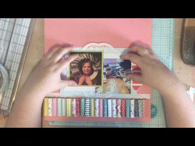 Scrapbooking Process Video #59 -  Create