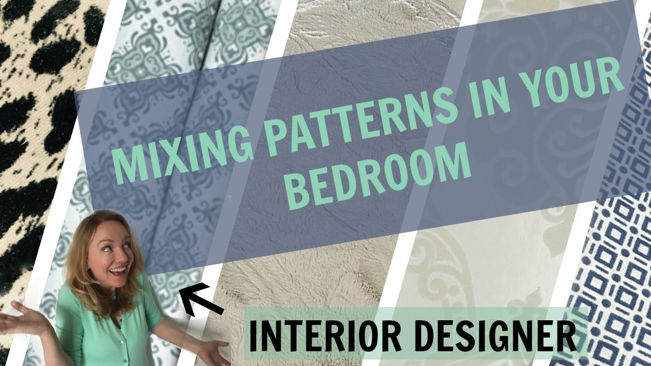 Sheets, bedding and other bedroom patterns. How to mix and match patterns and colors