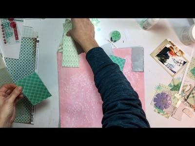 'Tis the Season Day 3- Scrapbooking Process #49- Dec Magic