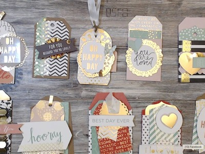 {TUTORIAL} 10 TAGS | DCWV PROJECT STACK | PART #1