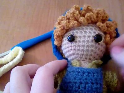 Weebee doll - Double Crochet Knit Stitch
