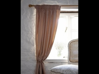 A simple lined curtain for you to sew by Debbie Shore