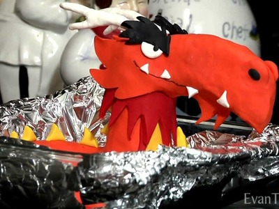 Angry Birds Mighty Dragon Clay Model Tutorial