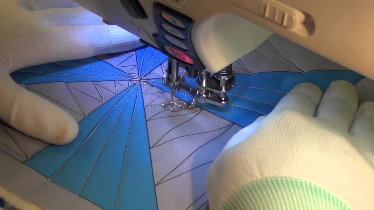 Beginner Quilting a Pinwheel in Building Blocks with Leah Day and Josh Day