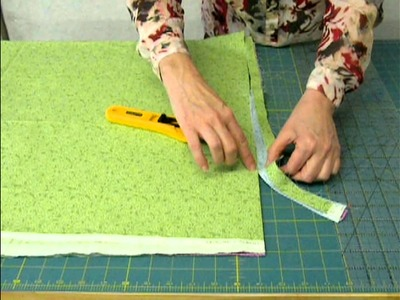 Cutting Layers by Barb Sackel for QuiltWoman.com