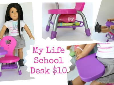 Doll School Desk | American Girl Doll Review