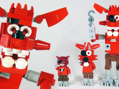 How To Build LEGO Foxy (Five Nights at Freddy's   FNAF)