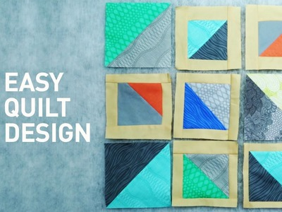 How to Design a Quilt: No Pattern Needed! | Quilting Tutorial