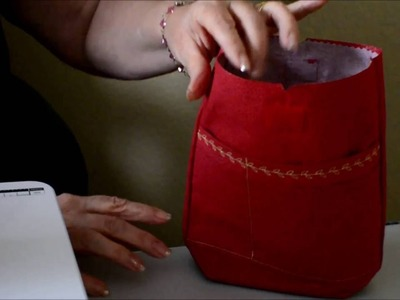 How to Make a Cross Body Bag Part 4
