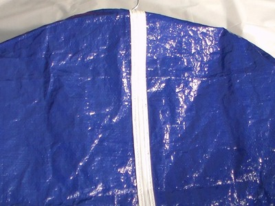 How to make a deluxe garment bag part 1