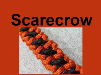 How to make a Scarecrow Paracord Bracelet Tutorial (Paracord 101)