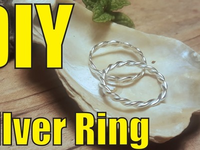 How To Make A Silver Ring.