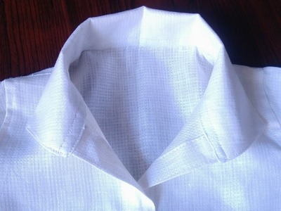 HOW TO MAKE PLAIN OPEN COLLAR