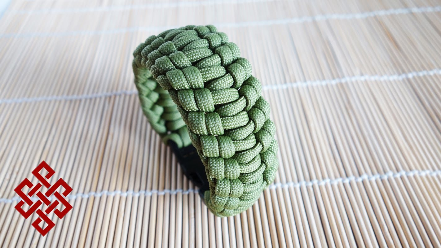 How to Make the Knuckle Up Paracord Bracelet Tutorial