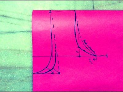 HOW TO MEASURE & DRAFT SHOULDER LINE,ARMHOLE,NECKLINE FOR DEEP NECK