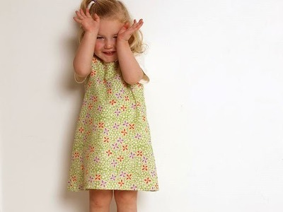 How to sew a girls Pinafore Dress, to support your sewing success