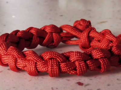 How To Tie The Snaking Cyclone Paracord Bracelet Without Buckle