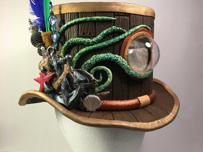 Making a Nautical Themed Steam Punk Top Hat