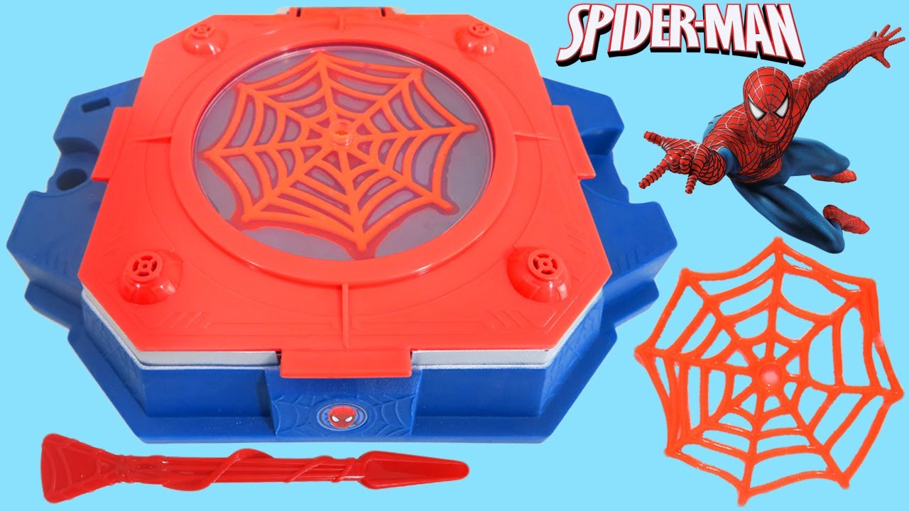 Marvel Science Spider-Man Web Creator Lab!