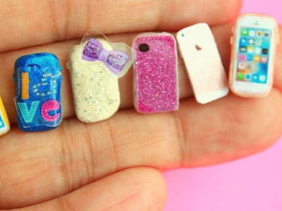 Miniature phone cases and iphone Made with PLAYDOH!!!