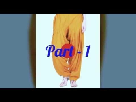 Patiala Salwar ( Part-1)  - Cutting and Stitching in Hindi