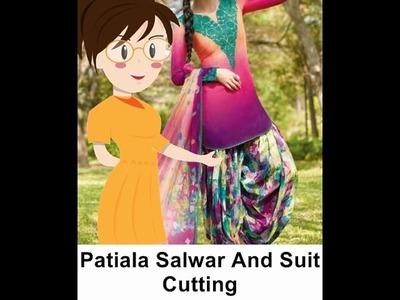 Patiala Salwar With Suit Cutting - Tailoring With Usha
