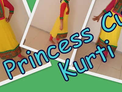 Princess Cut Kurti- Explaination- Part 1