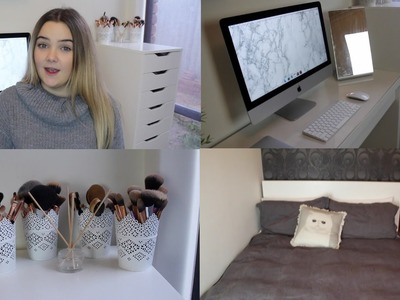Room Tour 2016 + Small Room Ideas!