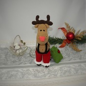 Santa Deer Amigurumi Pattern for Christmas - PDF PATTERN