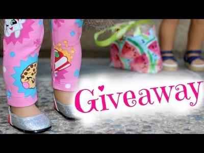 Shopkins Doll Leggings | American Girl Doll Review