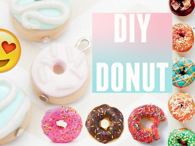 Simple and Cute Polymer Clay Donut Tutorial!  PastelPandaz