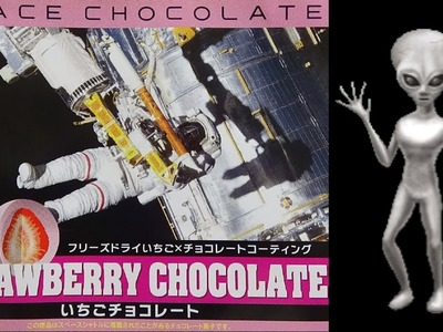 Space Food #2 - canned bread, freeze dried strawberry chocolate 宇宙食