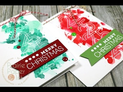 SSS Big Numbers   AmyR 2016 Christmas Card Series #10