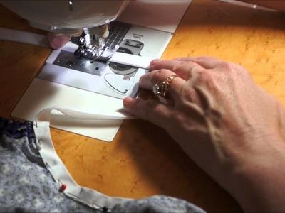 Step 3 - Sewing Bias Tape
